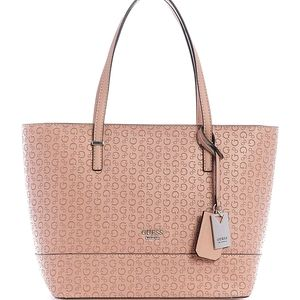 Guess Clarke Carryall Tote & Wristlet
